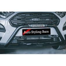 Ford EcoSport Facelift 2018- 2021+ PDC Nudge Bar Black