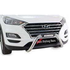 Hyundai Tuscan 2016+ Nudge Bar Stainless Steel