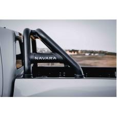 Nissan Navara D23 2021+ Sports Bar (Rollbar) 409 Stainless Steel Powder Coated Black