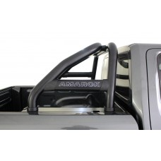 VW Amarok 2010 - 2020+ Rollbar (Sports Bar) with Oval Cross Members 409 SS PC Black