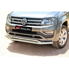VW Amarok 2017 - 2021+ Front Styling Bar Stainless Steel