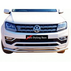 VW Amarok 2017 - 2019+ Front Styling Bar Stainless Steel