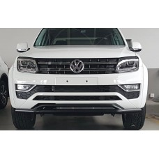 VW Amarok 2017 - 2021+ Front Styling Bar 409 Stainless Steel Powder Coated Black