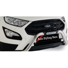 Ford Eco Sport 2018+ (Facelift) Nudge Bar Stainless Steel