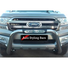 Ford Everest 2016 - 2019+ PDC Friendly Nudge Bar Stainless Steel