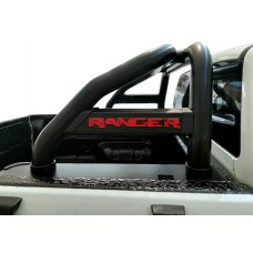 Ford Ranger 2016 - 2020+ Rollbar (Sports Bar) TILT Range 409 Stainless Steel PC Black