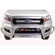 Ford Ranger 2016 - 2019+  Tri Bumper Stainless Steel