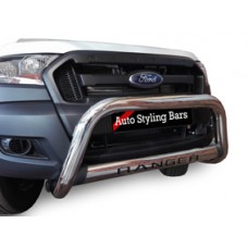 Ford Everest 2016 - 2019+ Nudge Bar Stainless Steel
