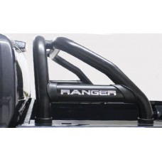 Ford Ranger 2012 - 2020+ Rollbar (Sports Bar) 409 Stainless Steel PC Black