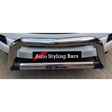 Isuzu RT85 2013 - 2020+ Nudge Bar Stainless Steel