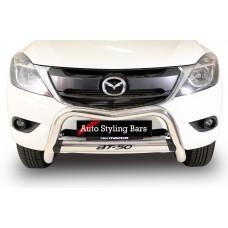Mazda BT50 Facelift 2017 2020+ Nudge Bar Stainless Steel