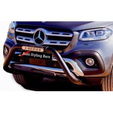 Mercedes Benz X - Class 2018 - 2020+ Nudge Bar - PDC Black