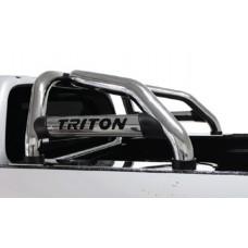 Mitsubishi Triton L200 Facelift 2019+ Sports Bar Stainless Steel