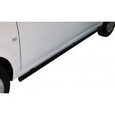 Nissan NP200 2010 - 2020+ Side Bars Black