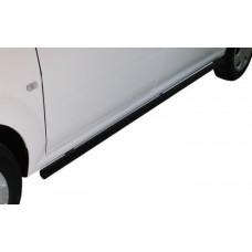 Nissan NP200 2010 - 2020+ Side Bars Black