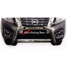 Nissan Navara D23 2017+ Nudge Bar Stainless Steel