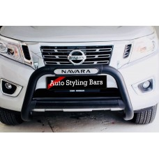 Nissan Navara D23 2017+ Nudge Bar Black