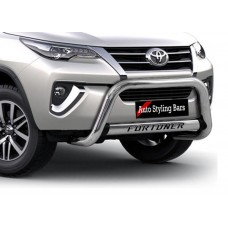 Toyota Fortuner 2016 - 2020+ Nudge Bar Stainless Steel