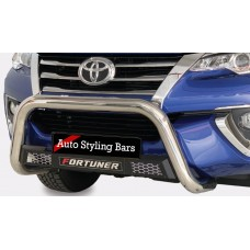 Toyota Fortuner 2016 - 2020+ Honeycomb Nudge Bar Stainless Steel