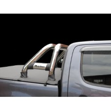 Toyota Hilux 2005 - 2015 Rollbar (Sports Bar) with Oval Cross Members Stainless Steel.