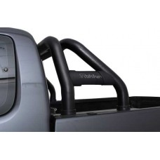 Toyota Hilux 2005 - 2015 Rollbar (Sports Bar) with Oval Cross Members 409 SS PC Black