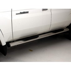 Toyota Hilux 2006 - 2015 Double Cab Side Steps Stainless Steel