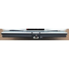 Nissan NP300 2009+ Towbar Double Tube Full Step (Mild Steel)