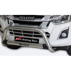 Isuzu RT85 2013 - 2020+ Nudge Bar Stainless Steel