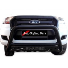 Ford Ranger 2016 - 2020+ Nudge Bars Black Coated