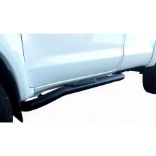 Ford Ranger 2012 - 2019+ Side Steps Black Coated Single Cab