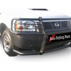 Nissan NP300 2009+ Fullface Bullbar Black (Mild Steel)