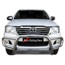 Toyota Hilux 2005 - 2015 Nudge Bar Wrap Around Stainless Steel
