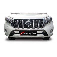 Toyota Prado 2017+ Nudge Bar - Low - Stainless Steel