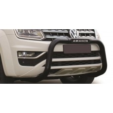 VW Amarok 2017+ Nudge Bar Black Coated Stainless Steel PDC Friendly