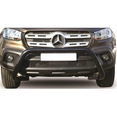 Mercedes Benz 2018+ Aftermarket X-Class Black Nudge