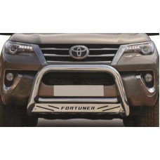 Toyota Fortuner 2016 - 2019+ Nudge Bar Stainless Steel