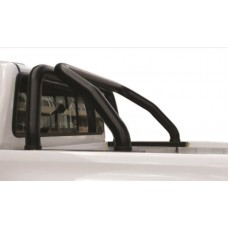 Toyota Hilux 2016 - 2020+ Rollbar Double and Extended Cab Black Coated