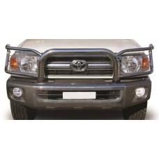 Toyota Landcruiser 70 2009 - 2020 Stainless Steel Headlight Wrap Around