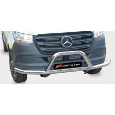 Merc Sprinter 2019+ Front Styling Bar Stainless Steel
