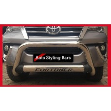 Toyota Fortuner 2016 - 2021+ Nudge Bar Stainless Steel