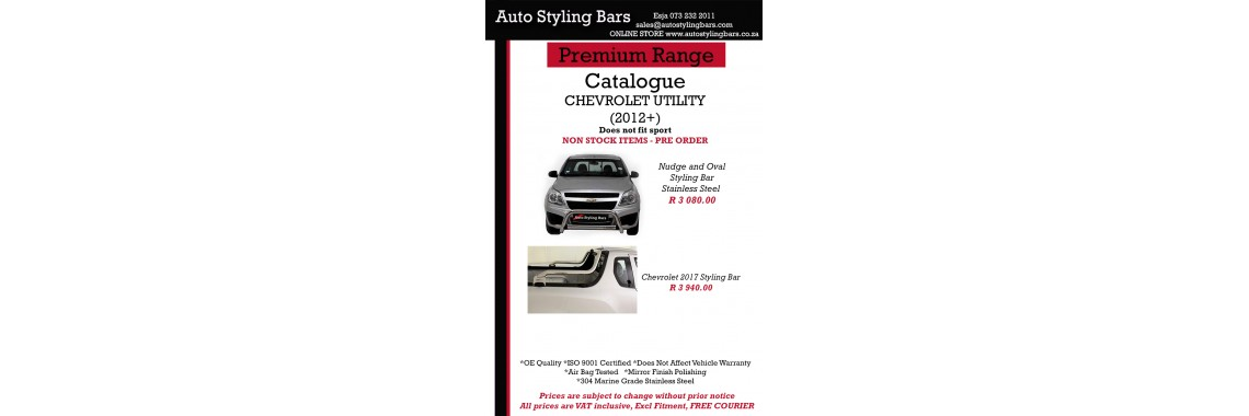 Chev Products Stainless