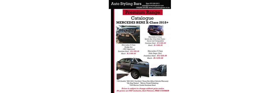 Mercedes Products Stainless Steel
