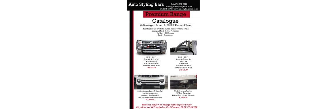 VW Amarok 2010 -2019 409 SS Black