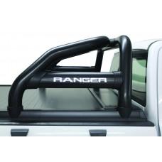 Ranger DC 2016+ Sports Bar 409 Stainless Steel Powder Coated Black & 218 Securi-Lid